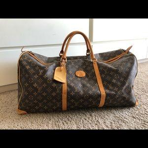 Vintage Louis Vuitton duffel bag